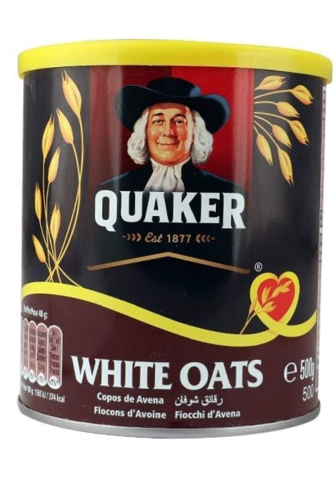 Quaker 500g رقائق شوفان كويكر