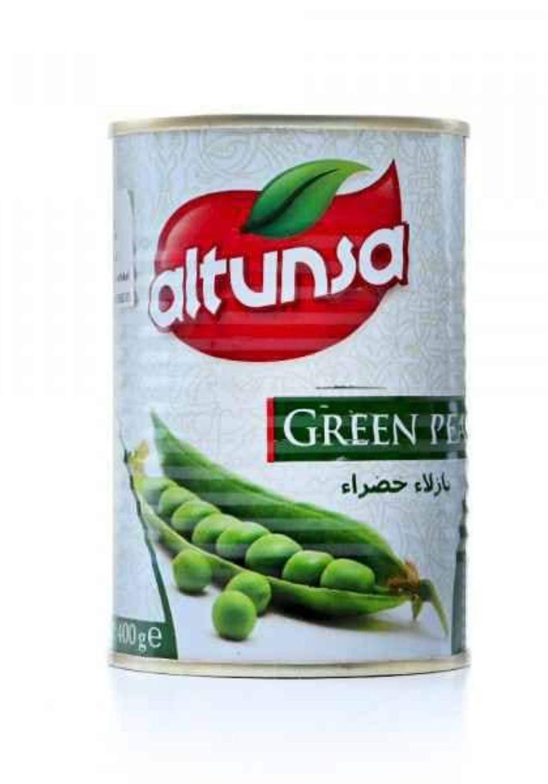 Altunsa green peas 400g لبتون سا بازلاء خضراء