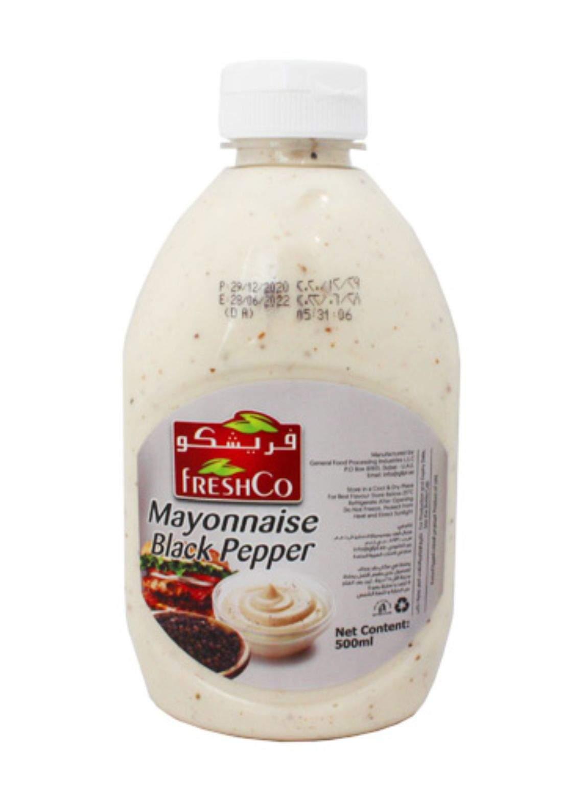 FreshCo Mayonnaise with Black Pepper فريشكو مايونيز بالفلفل الأسود