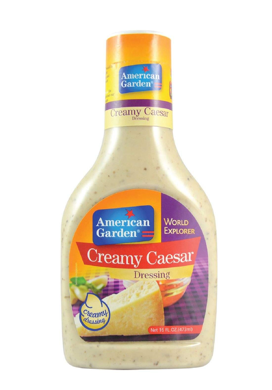 American Garden Creamy Caesar dressing صلصة سيزر كريمية