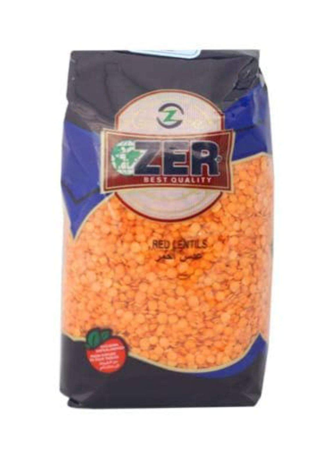 Zer red lentils 700g عدس