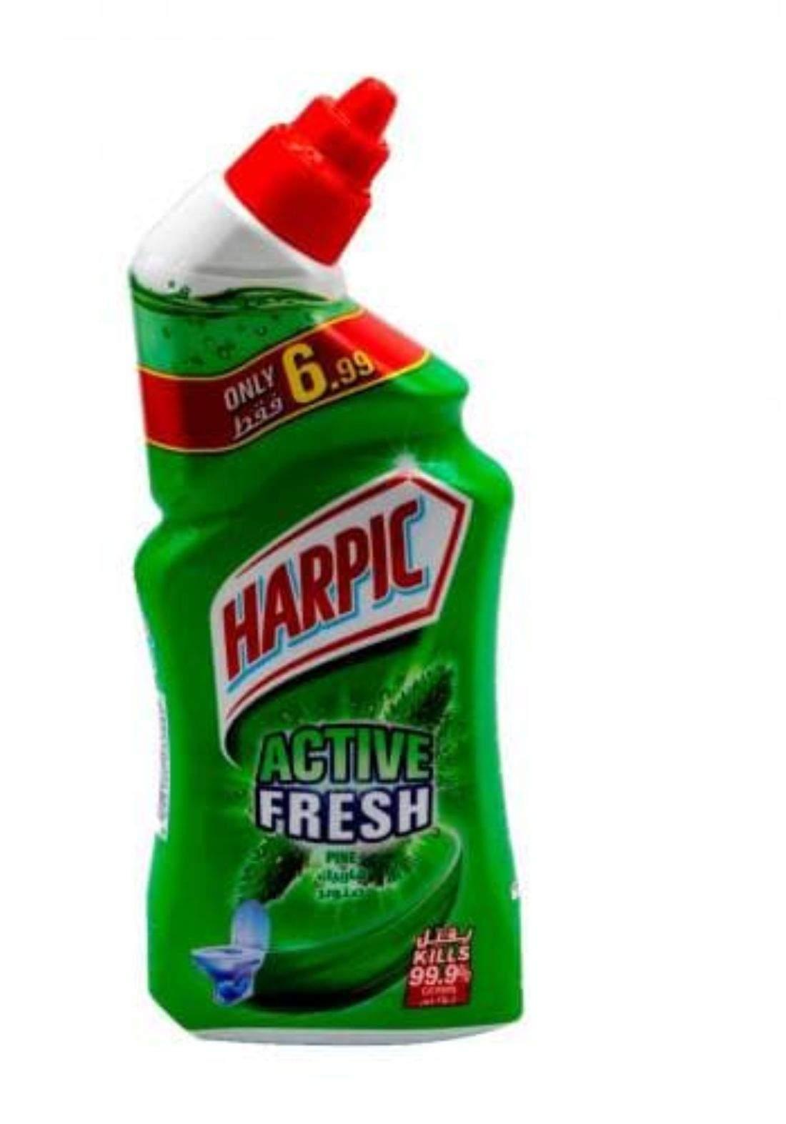Harpic active fresh 495ml هاربيك اكتف فريش