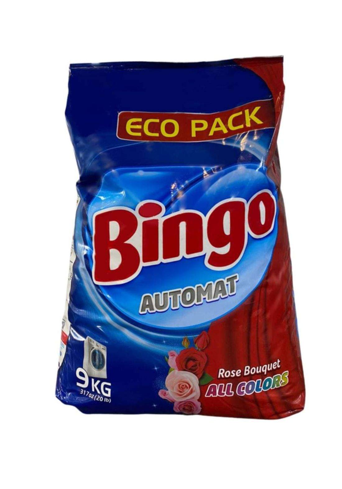 Bingo washing powder 9kg بينجو مسحوق غسيل