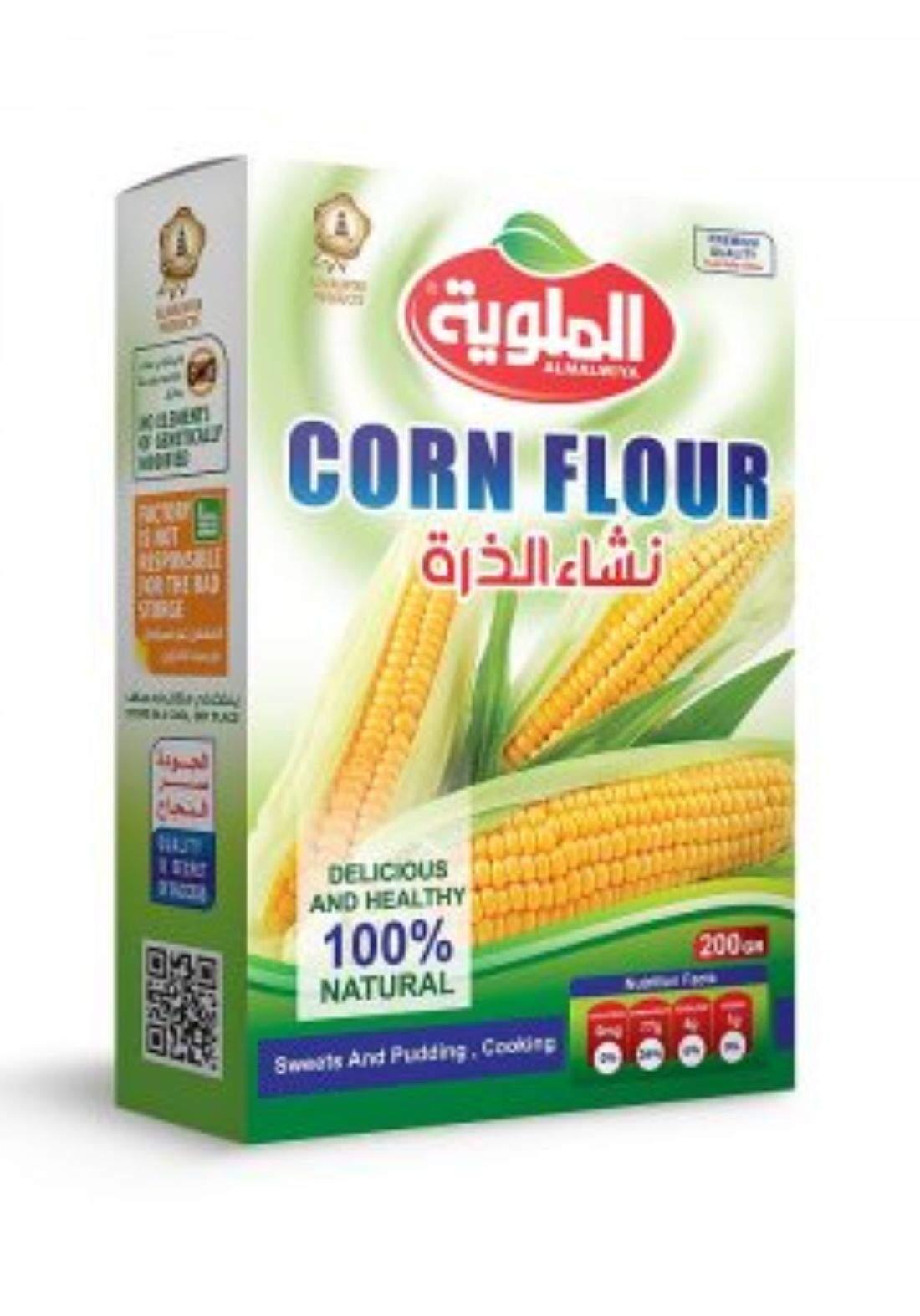 Al-Malwiya Corn Flour نشأ الذرة الملوية