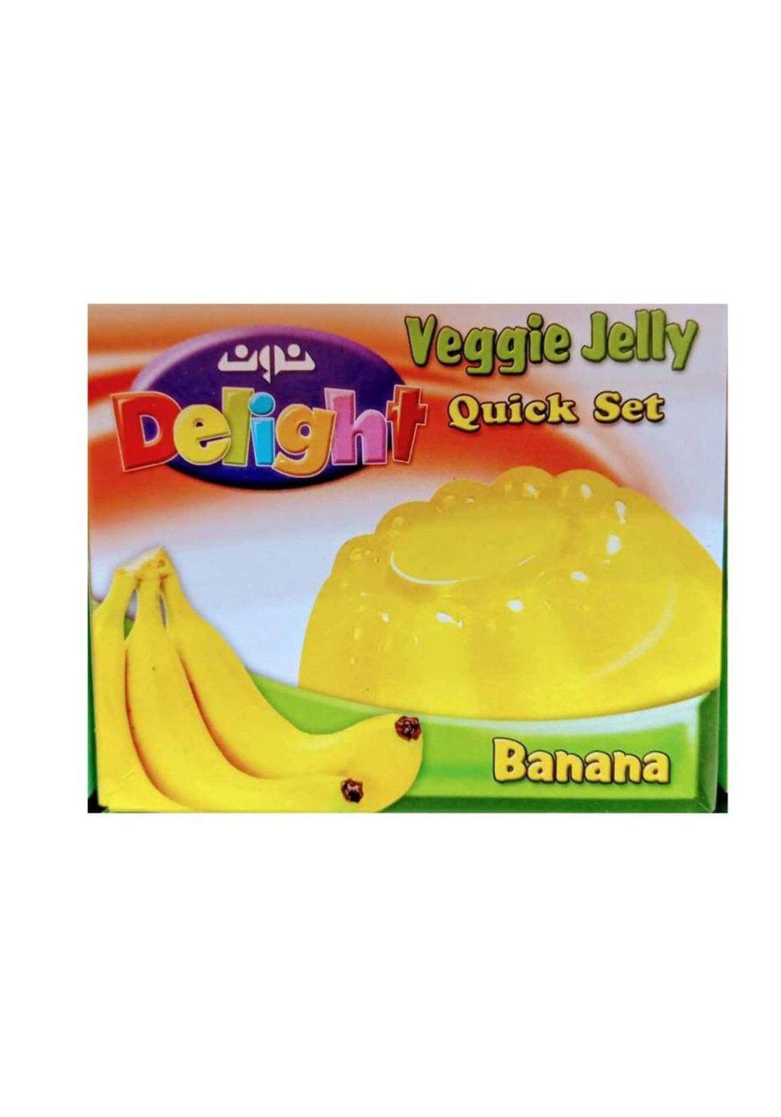 Delight veggie jelly ديلايت جلي نباتي