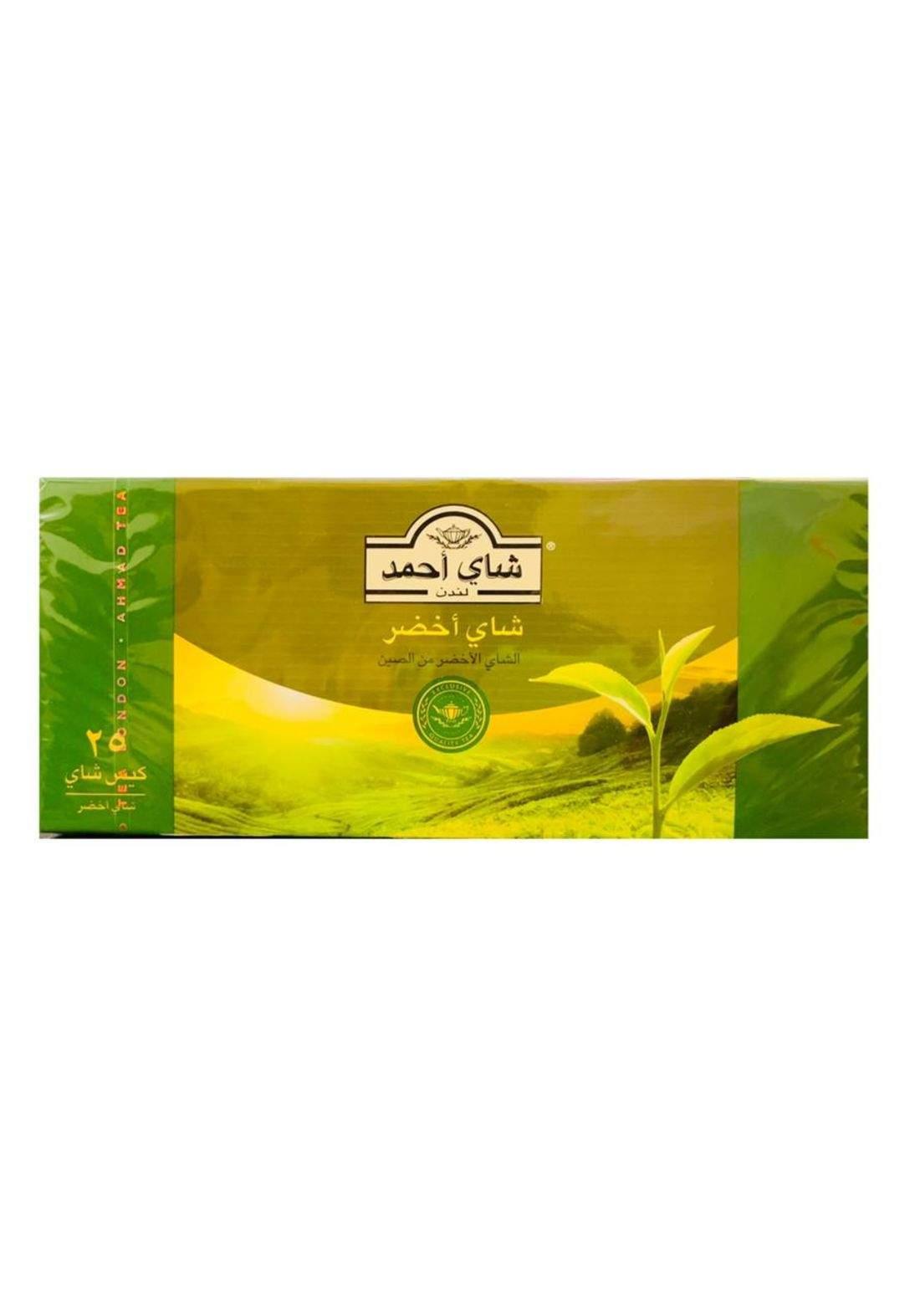 Ahmed green tea X25 شاي اخضر احمد