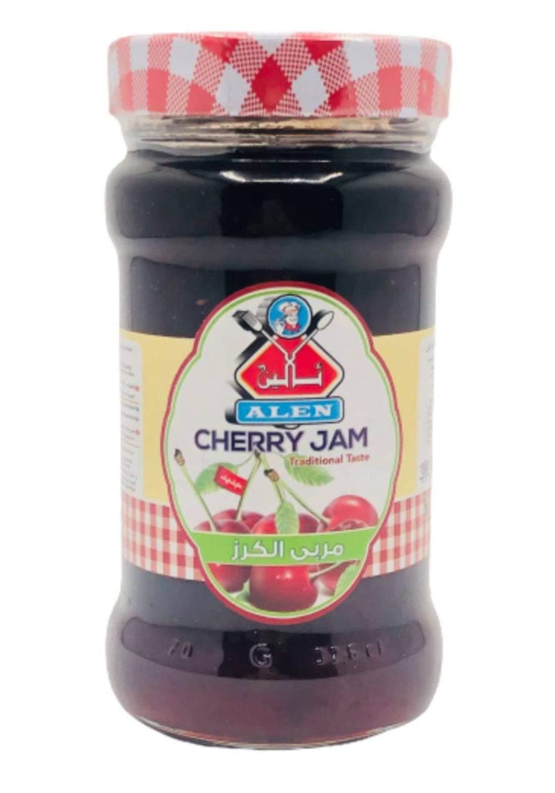 Alken cherry jam 380g ئالين مربى الكرز