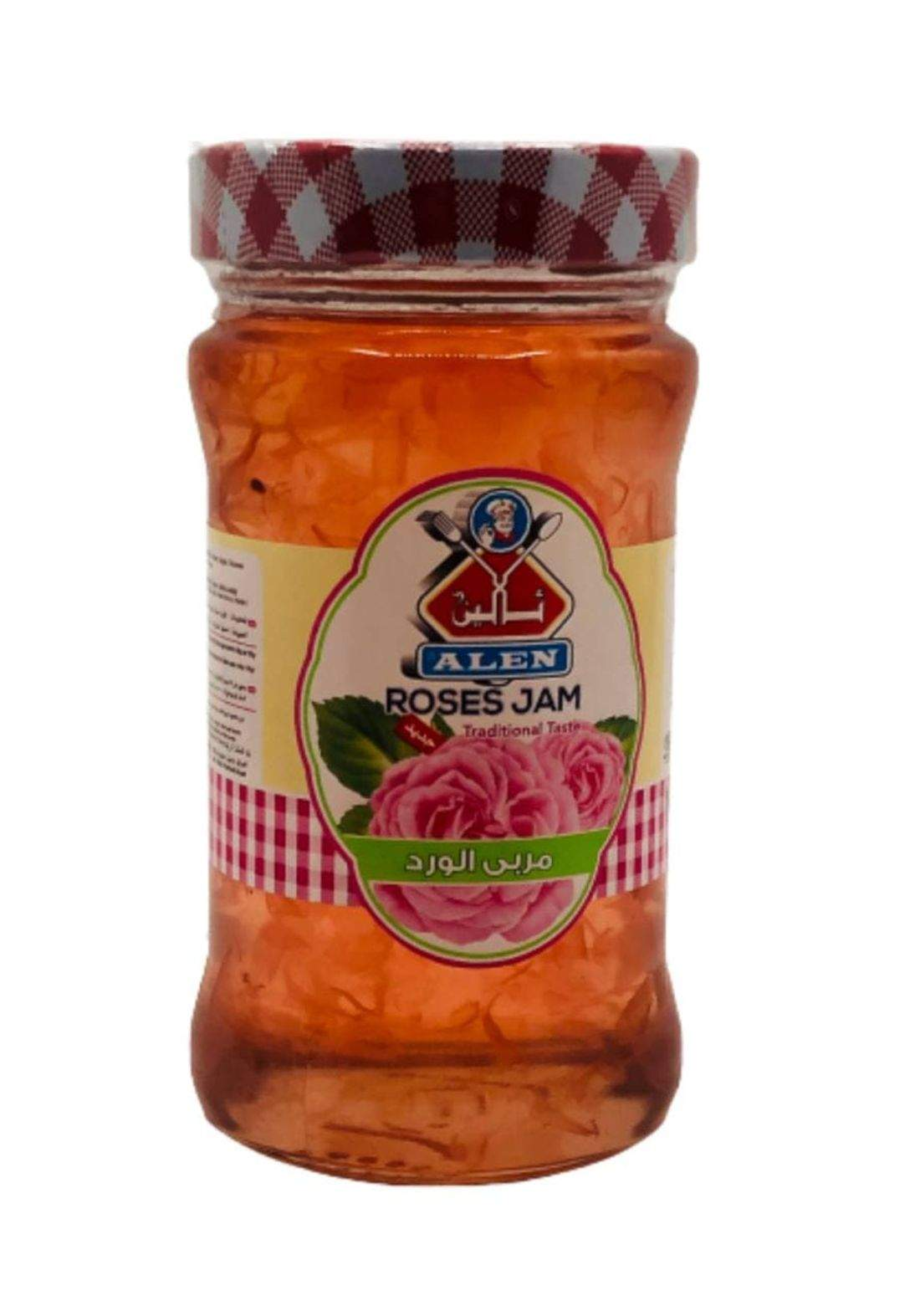 Alen roses jam 380g ئالين مربى الورد