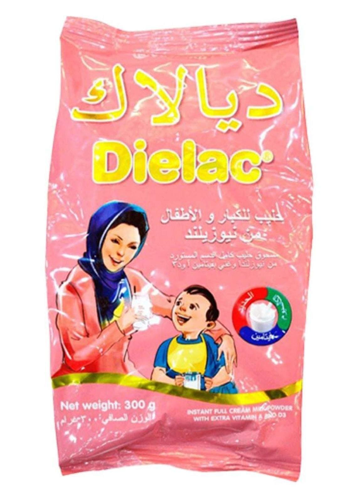 Dielac milk powder 300g ديالاك حليب مجفف