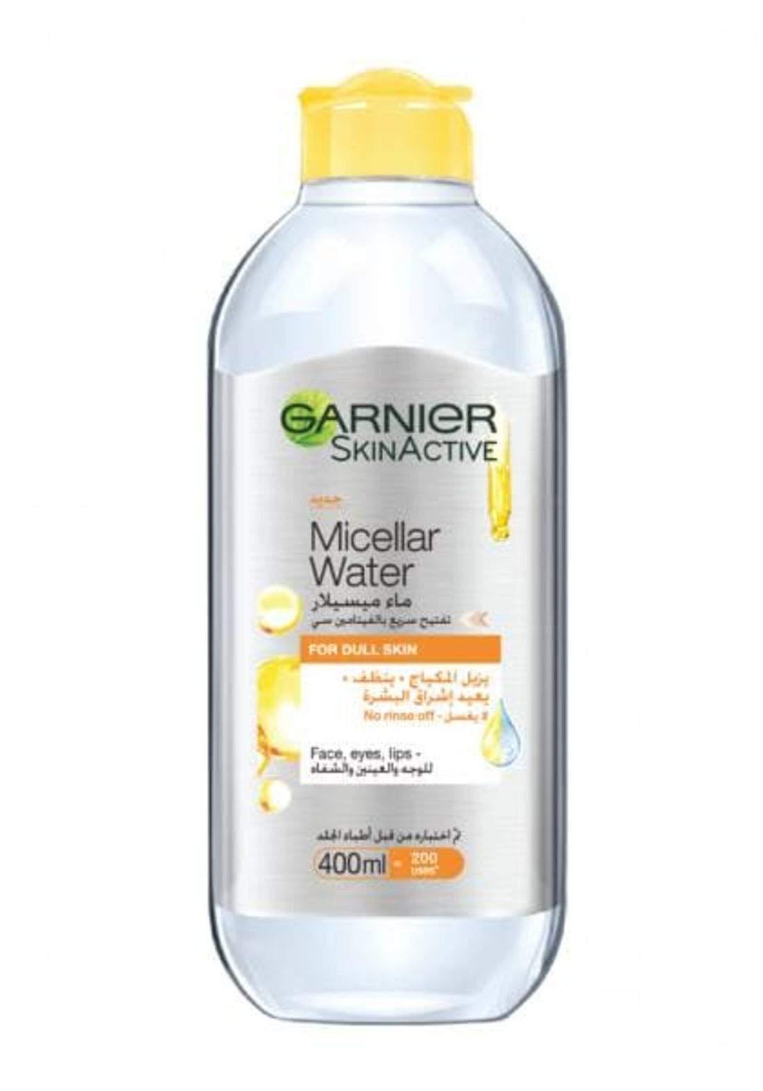 Garnier micellar cleansing water 400ml غارنيا ماء ميسيلار