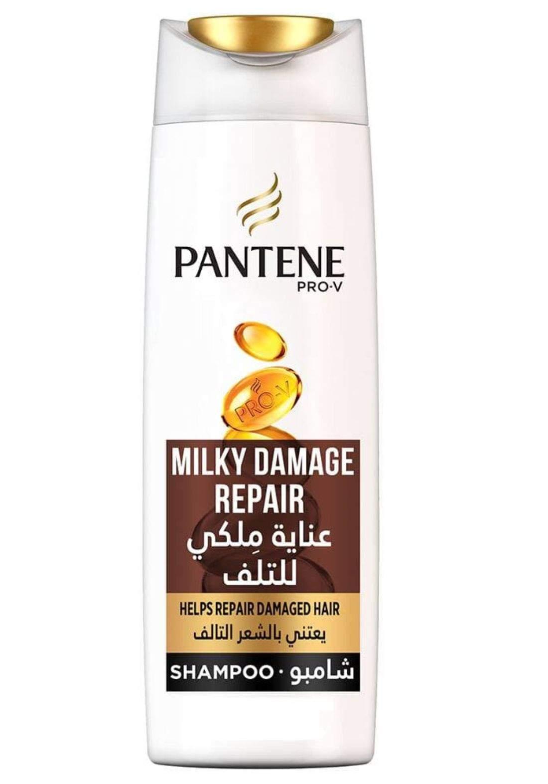 Pantene milky damage repair shampoo 400mlشامبو بانتين عناية ملكية