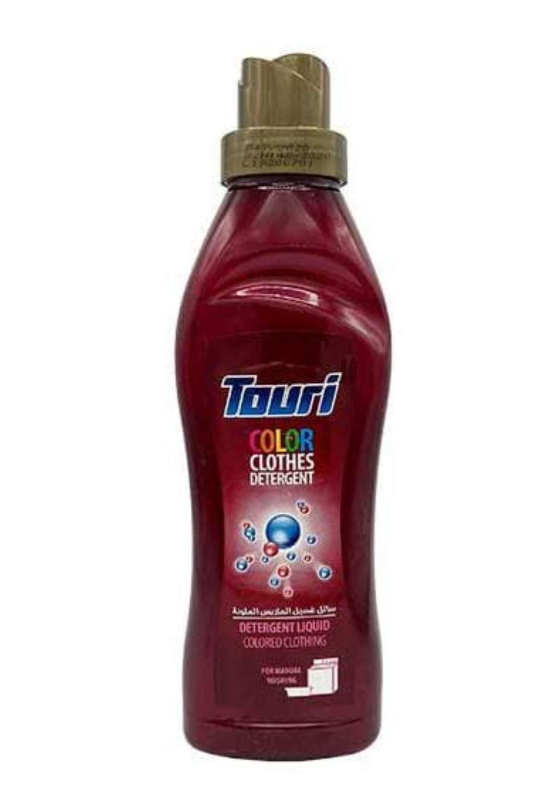 Touri color clothes detergent 900ml طوري سائل غسيل الملابس الملوية
