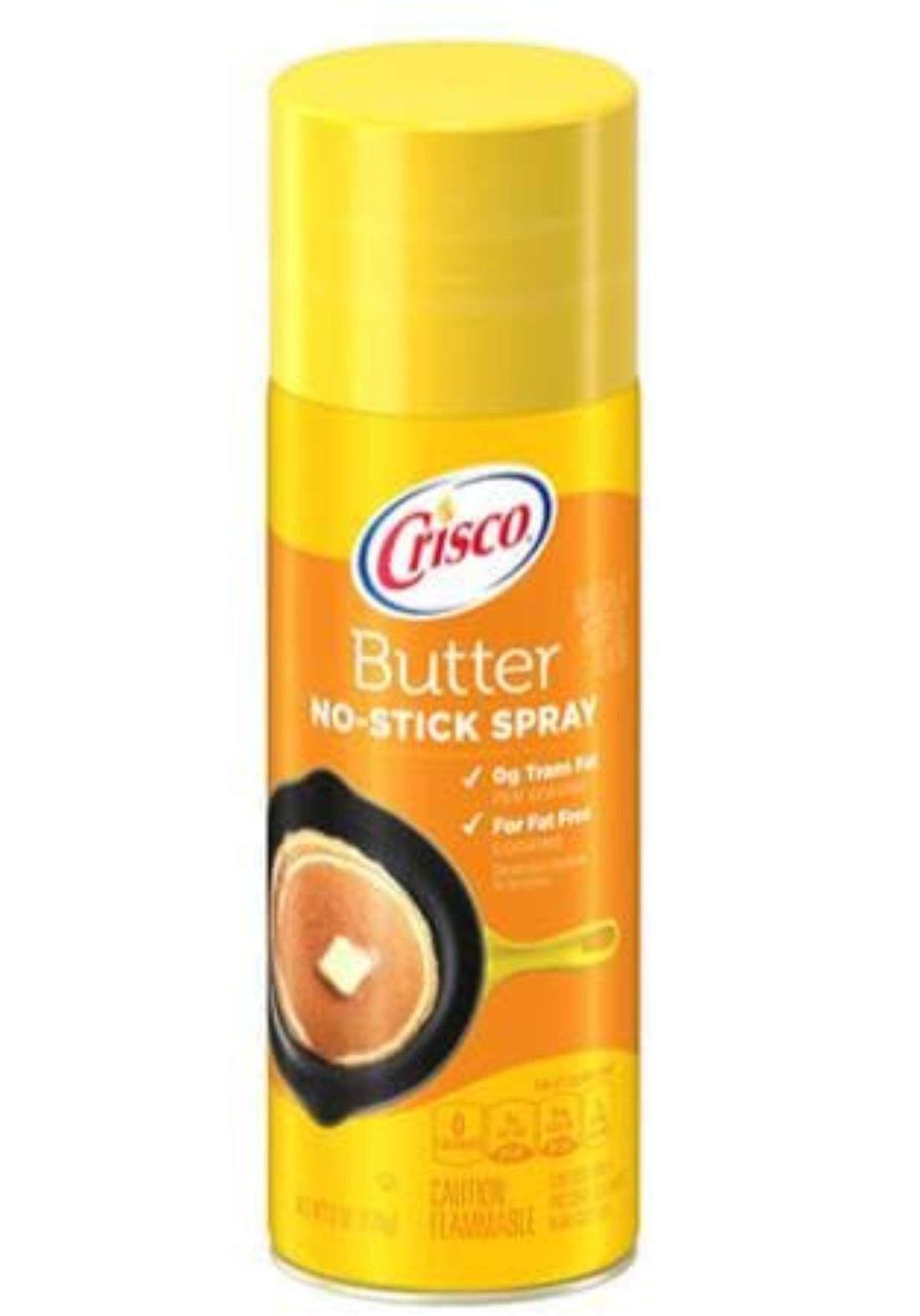 Crisco butter no-stick spray 170g كوسكو بخاخ زيت