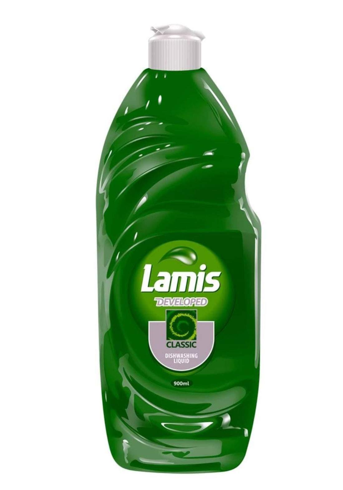lamis  dishwashing liquid 900ml لميس  سائل غسيل الصحون