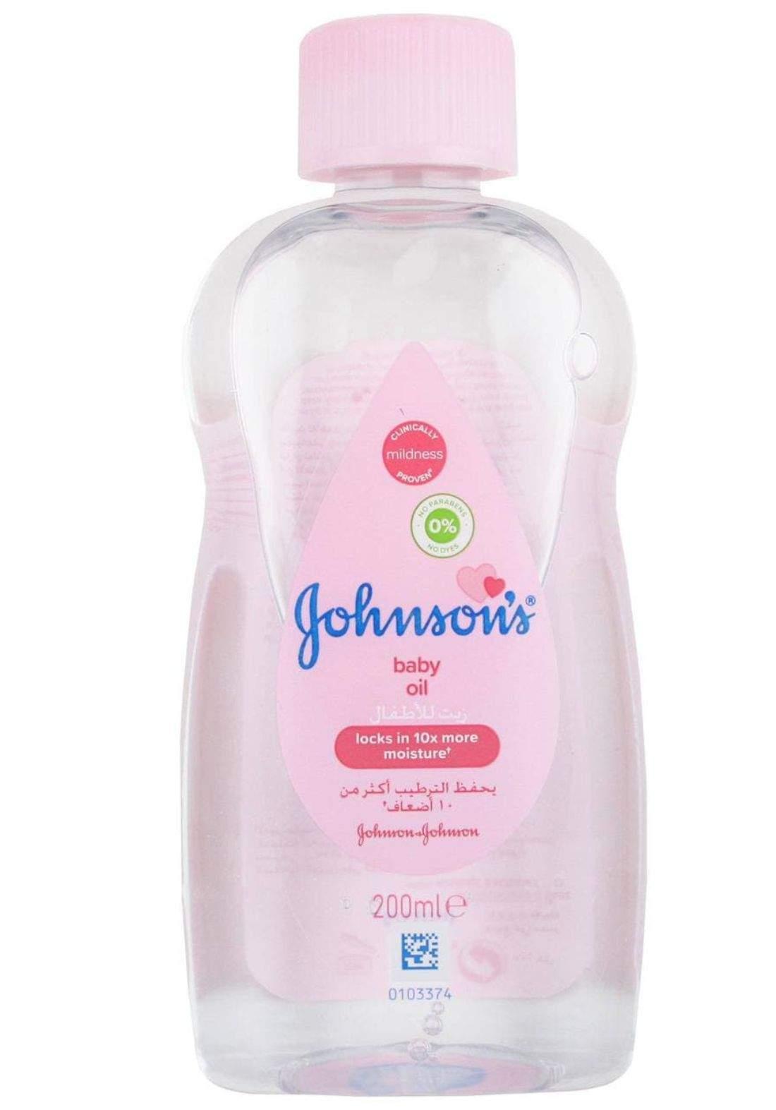 Johnsons baby oil 200ml جونسن زيت للاطفال