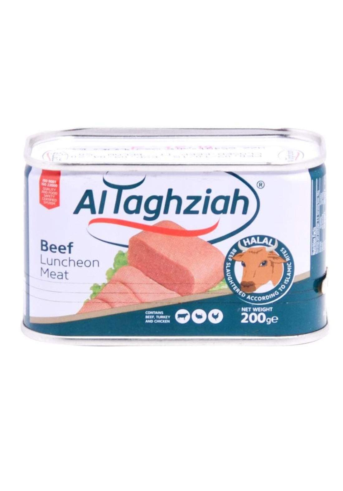 Altaghziah beef luncheon meat  200g التغذية لحم لانشون بقري