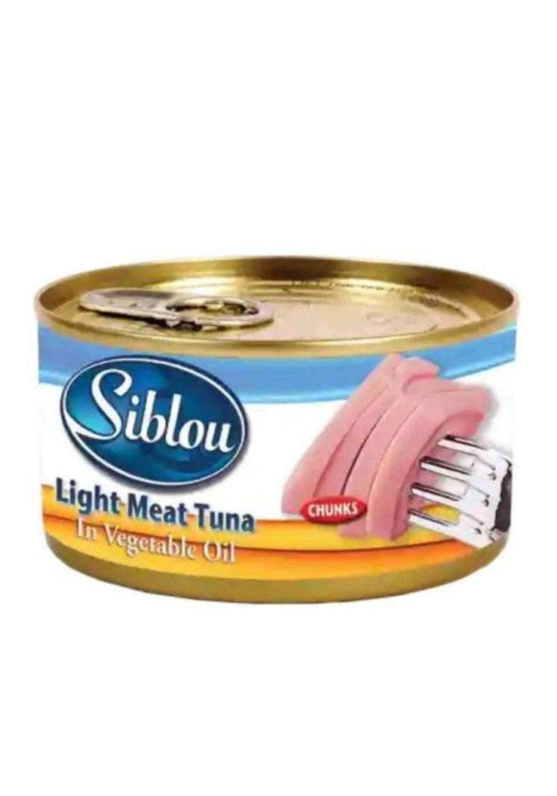 Siblou light meat tuna 120g سيبو تونا زهري