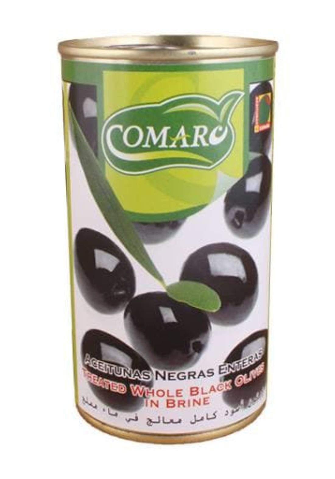 Comar black olives 345g زيتون اسود شرائح