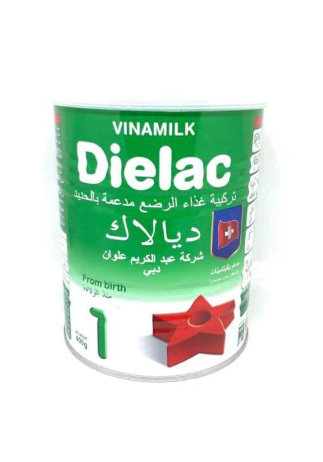 Dielac powder milk 400g ديالاك حليب اطفال