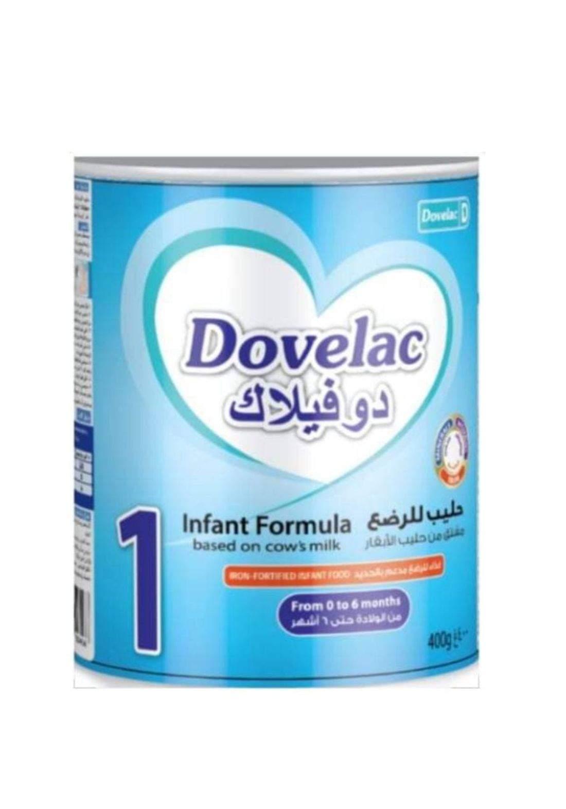 Dovelac powder milk 400g دوفيلاك حليب للاطفال