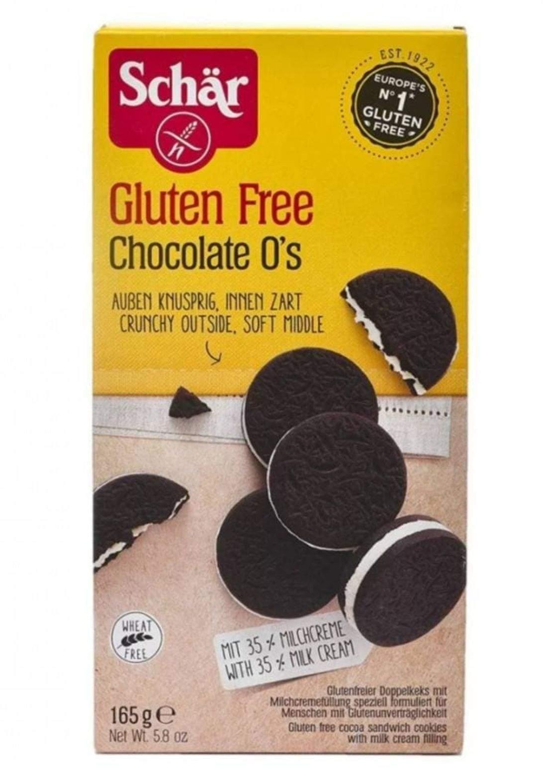 Cocoa sandwich cookies  165g كوكيز خالي من الغلوتين