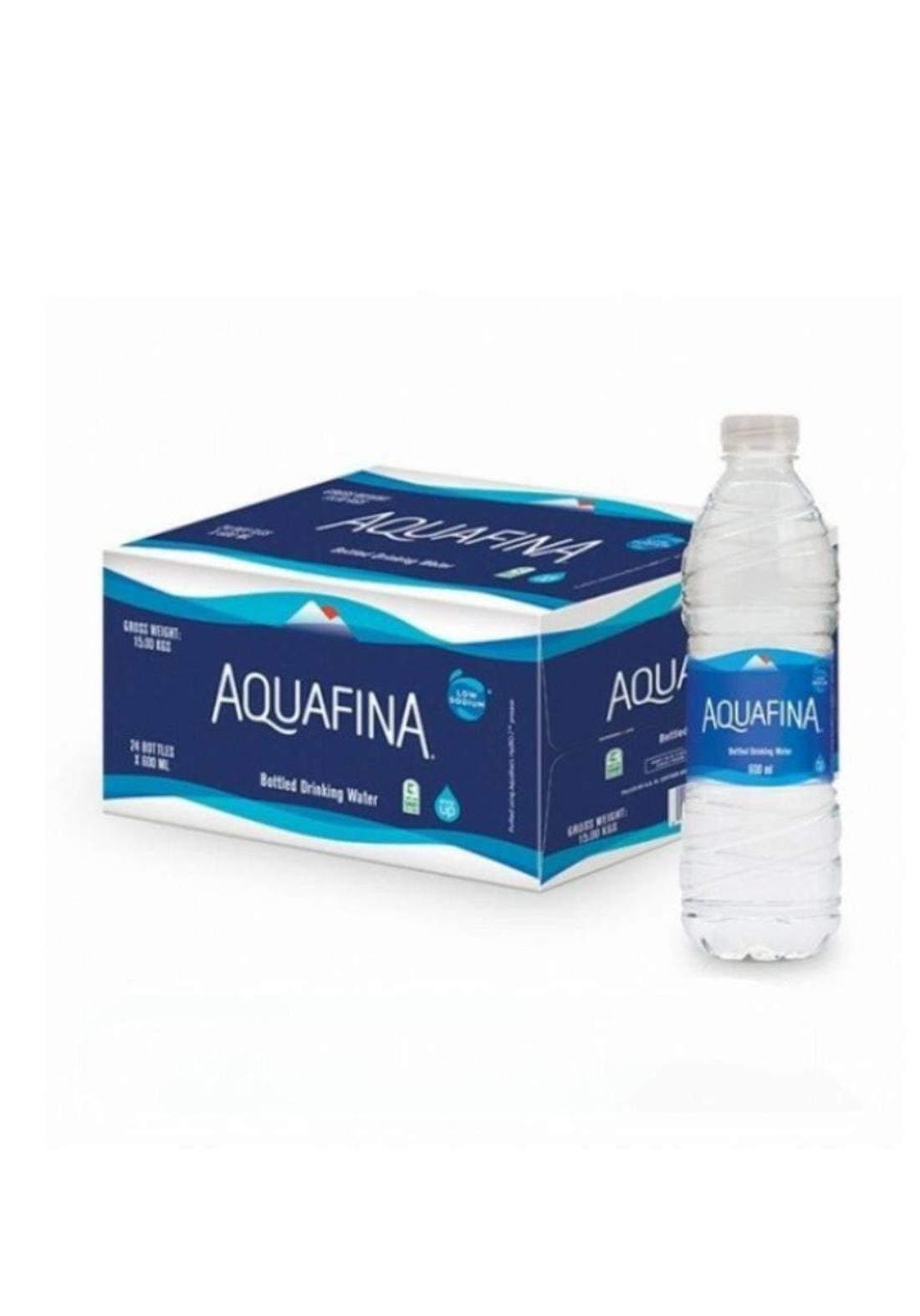Water bottles 500ml X12 مياه اكوافينا