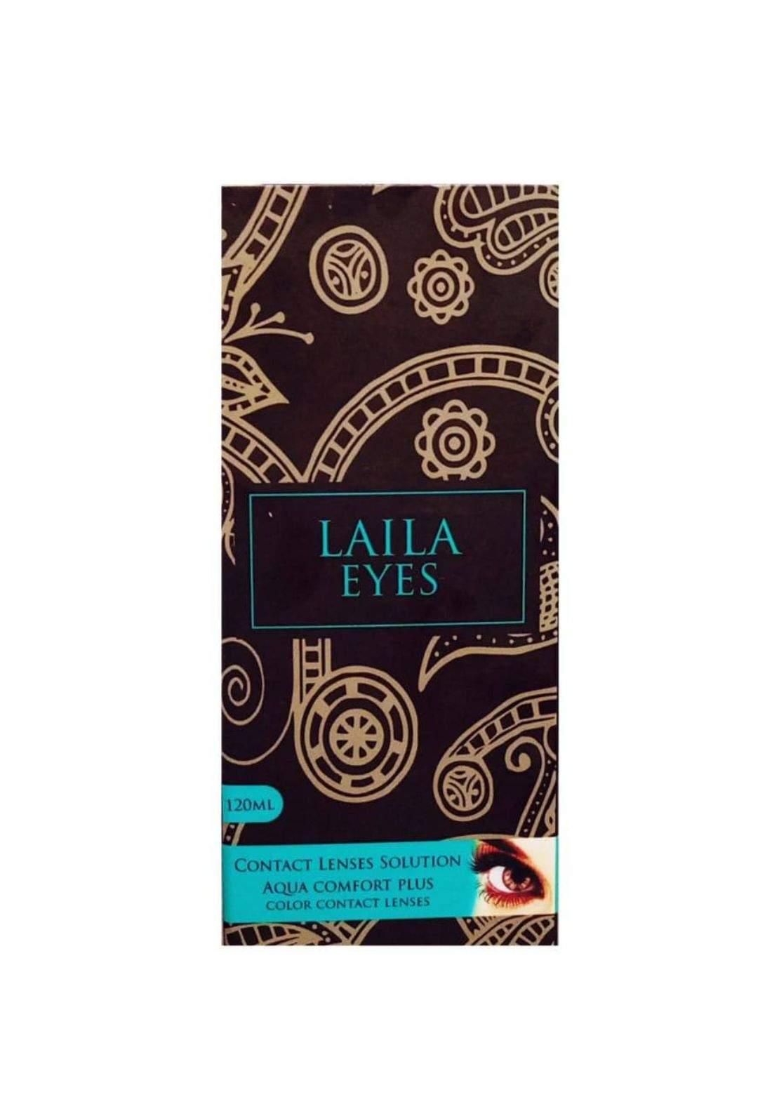 Laila eyes120ml ماء عدسات