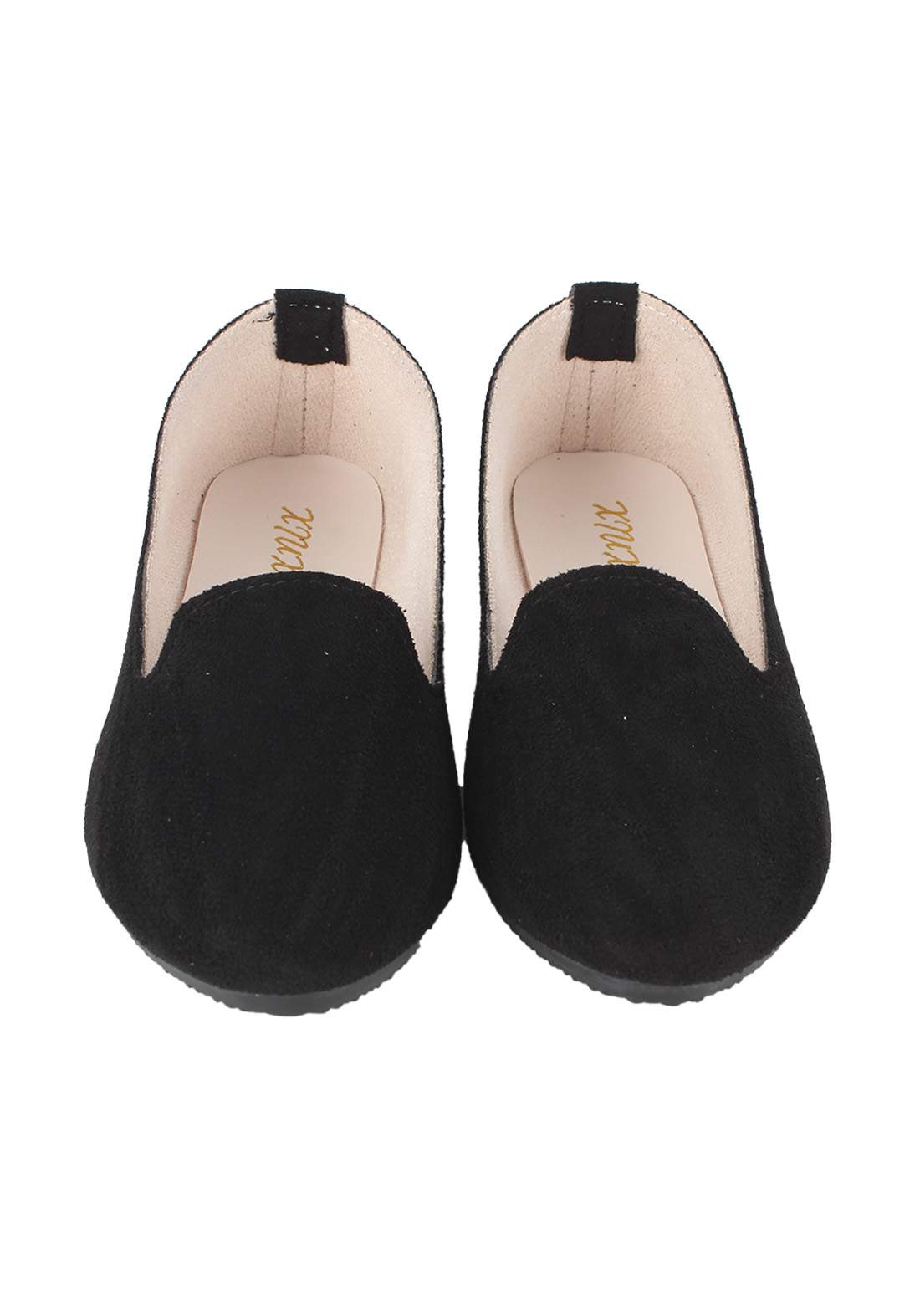 حذاء نسائي فلات اسود اللون