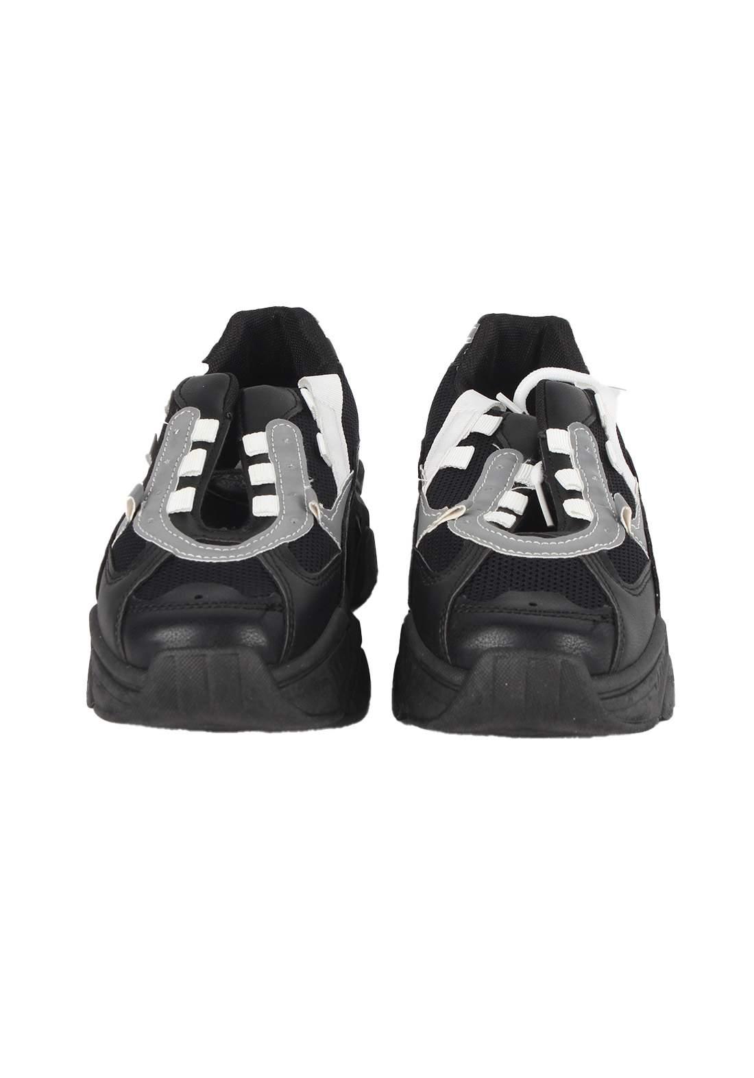 حذاء بناتي رياضي اسود اللون