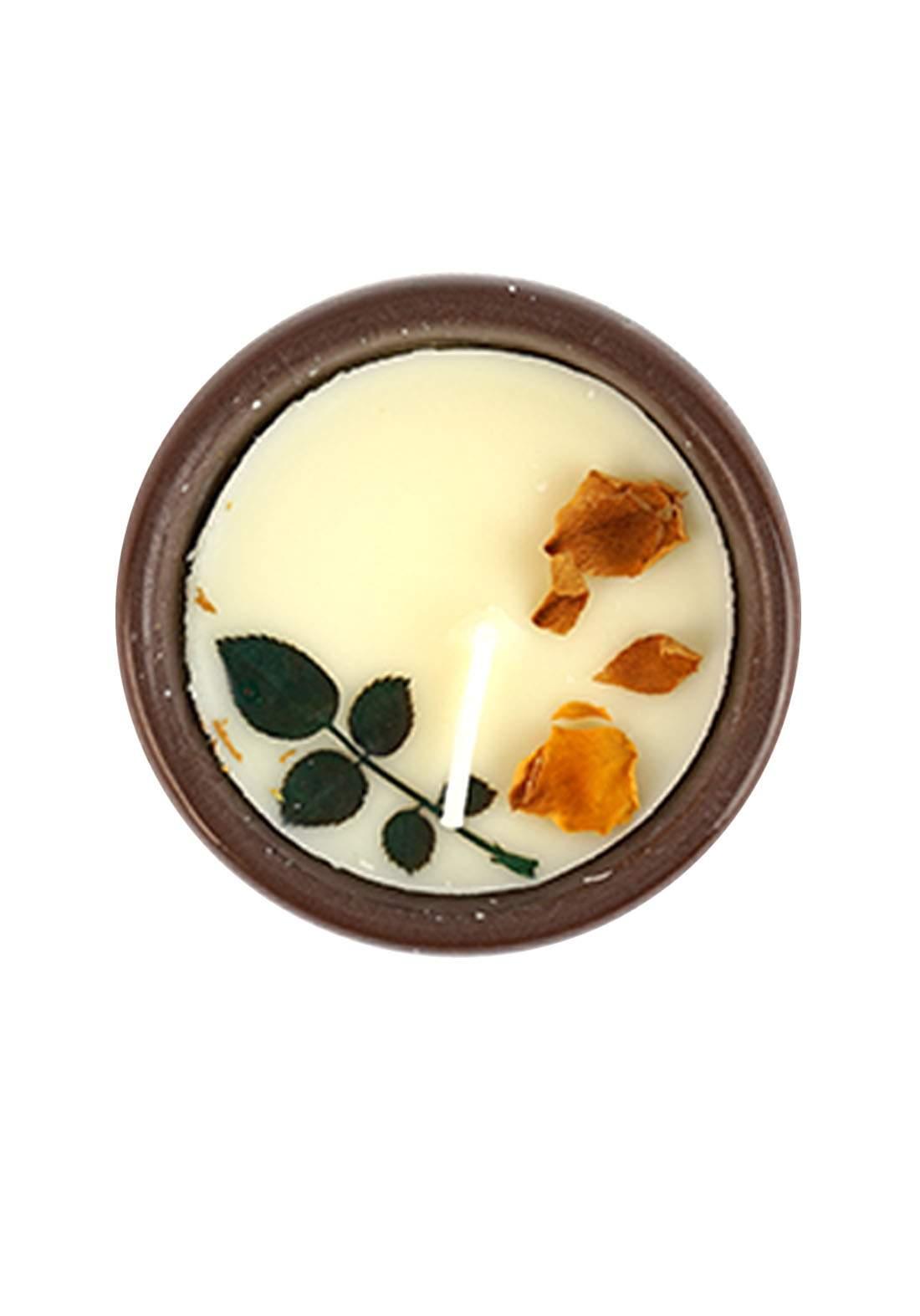 Scented Candle UK Pear &Freesla Fragrance شمعة عطرية