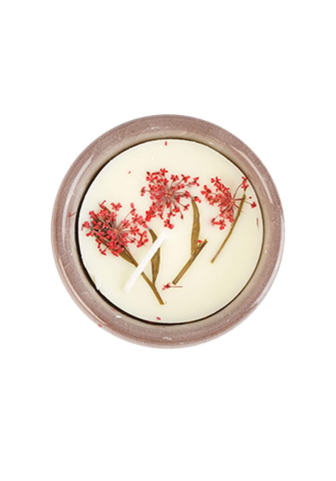 Scented Candle Cherry Flowers Fragrance شمعة عطرية