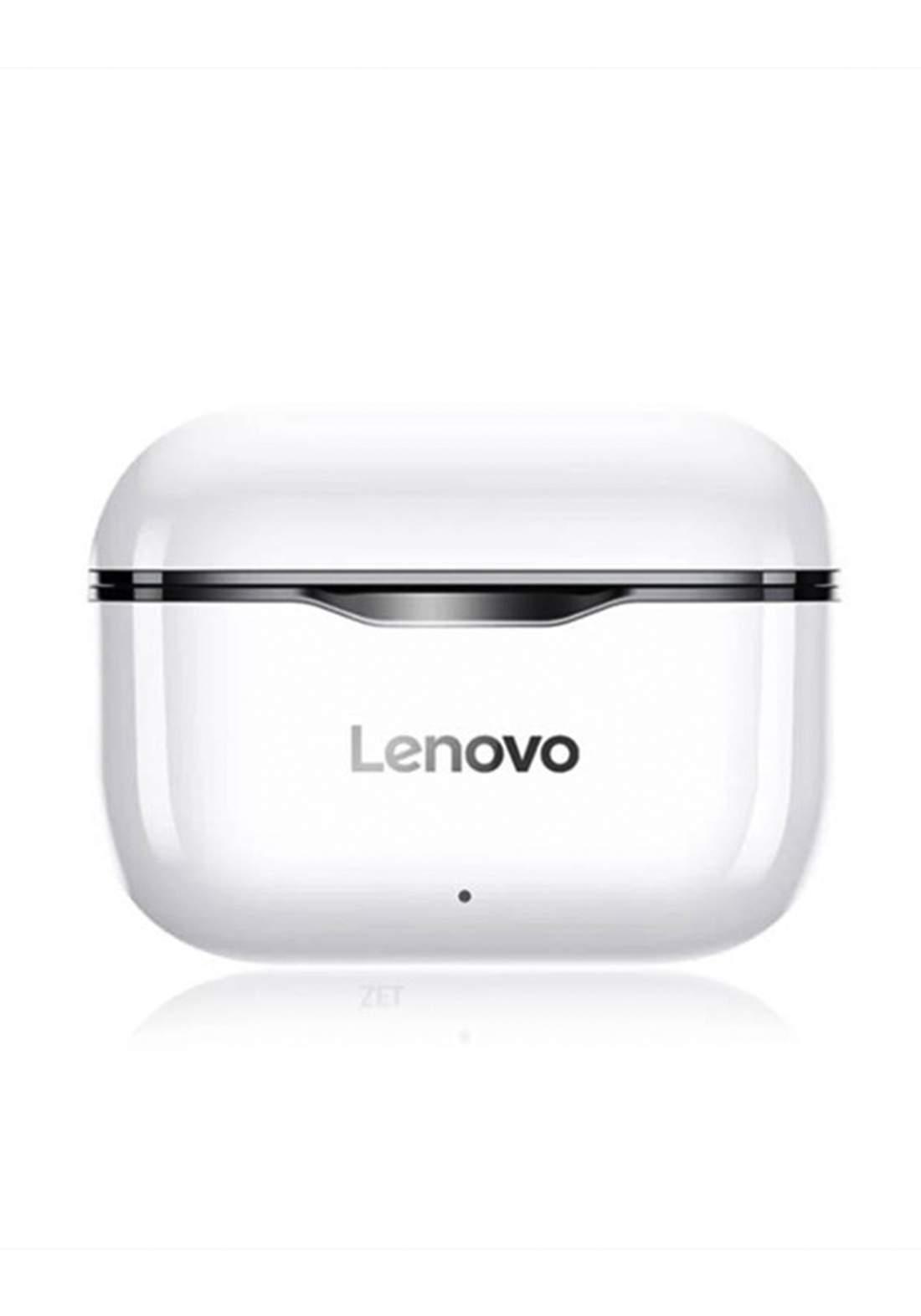 Lenovo Wireless Buds - White سماعة بلوتوث