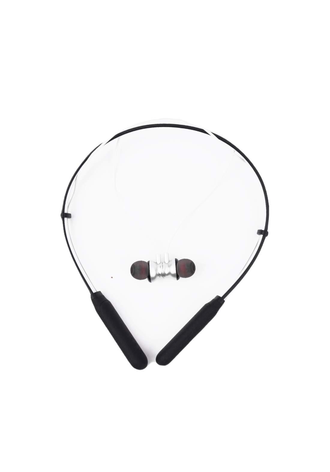 Lenovo HE05 Neckband Bluetooth Headset- Silver سماعة
