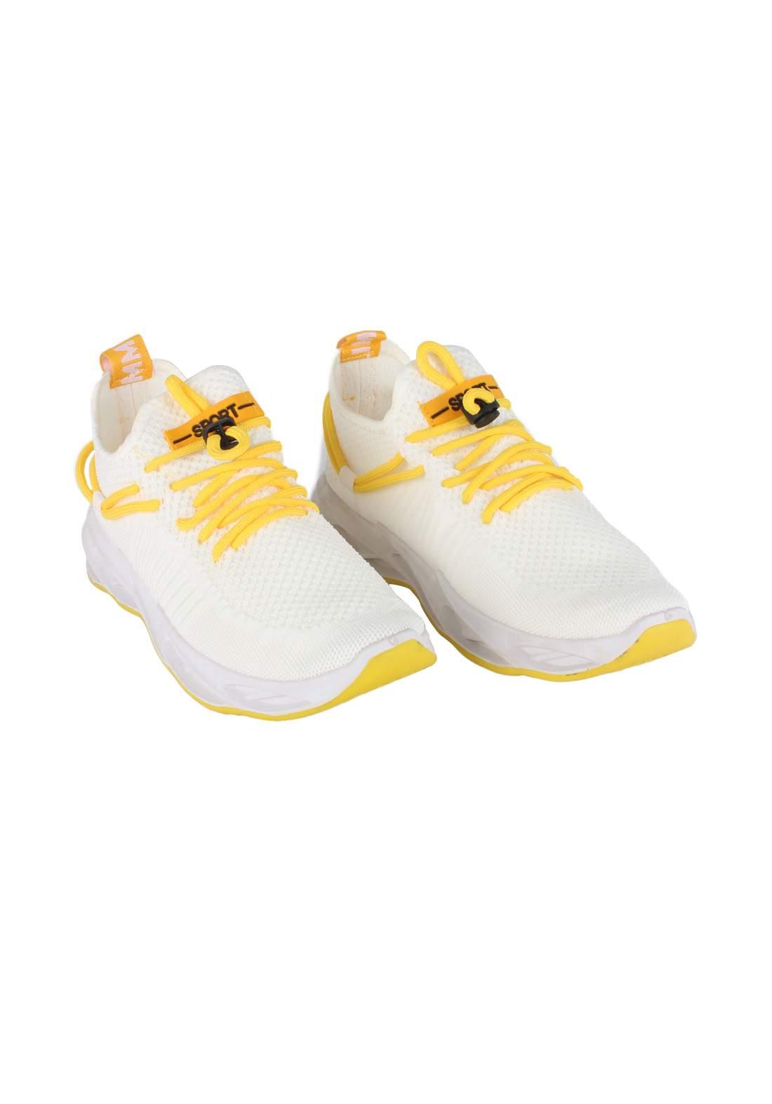 حذاء رياضي رجالي  ابيض اللون 085