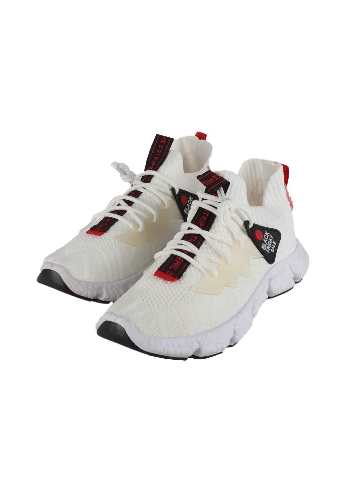 حذاء رجالي رياضي ابيض اللون