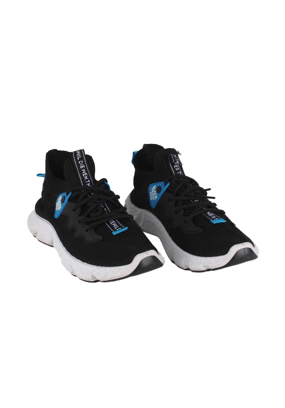 حذاء رجالي رياضي اسود اللون