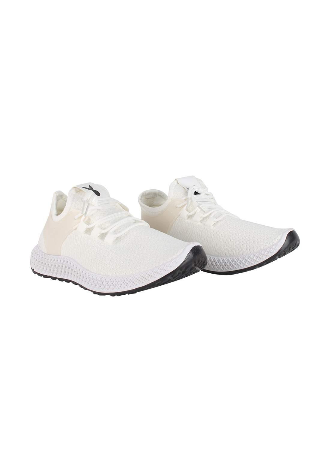 حذاء رجالي ابيض اللون