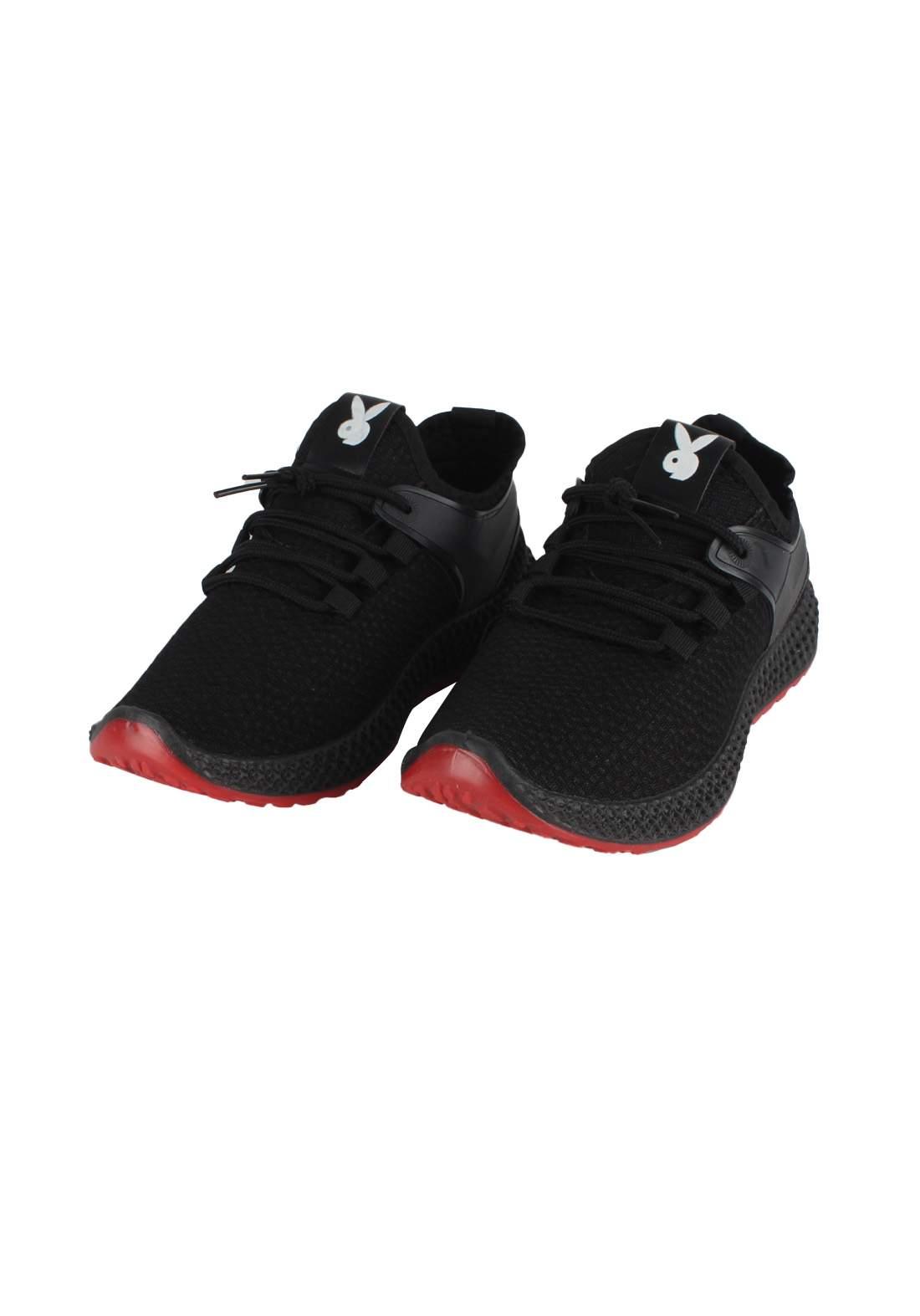 حذاء رجالي اسود اللون