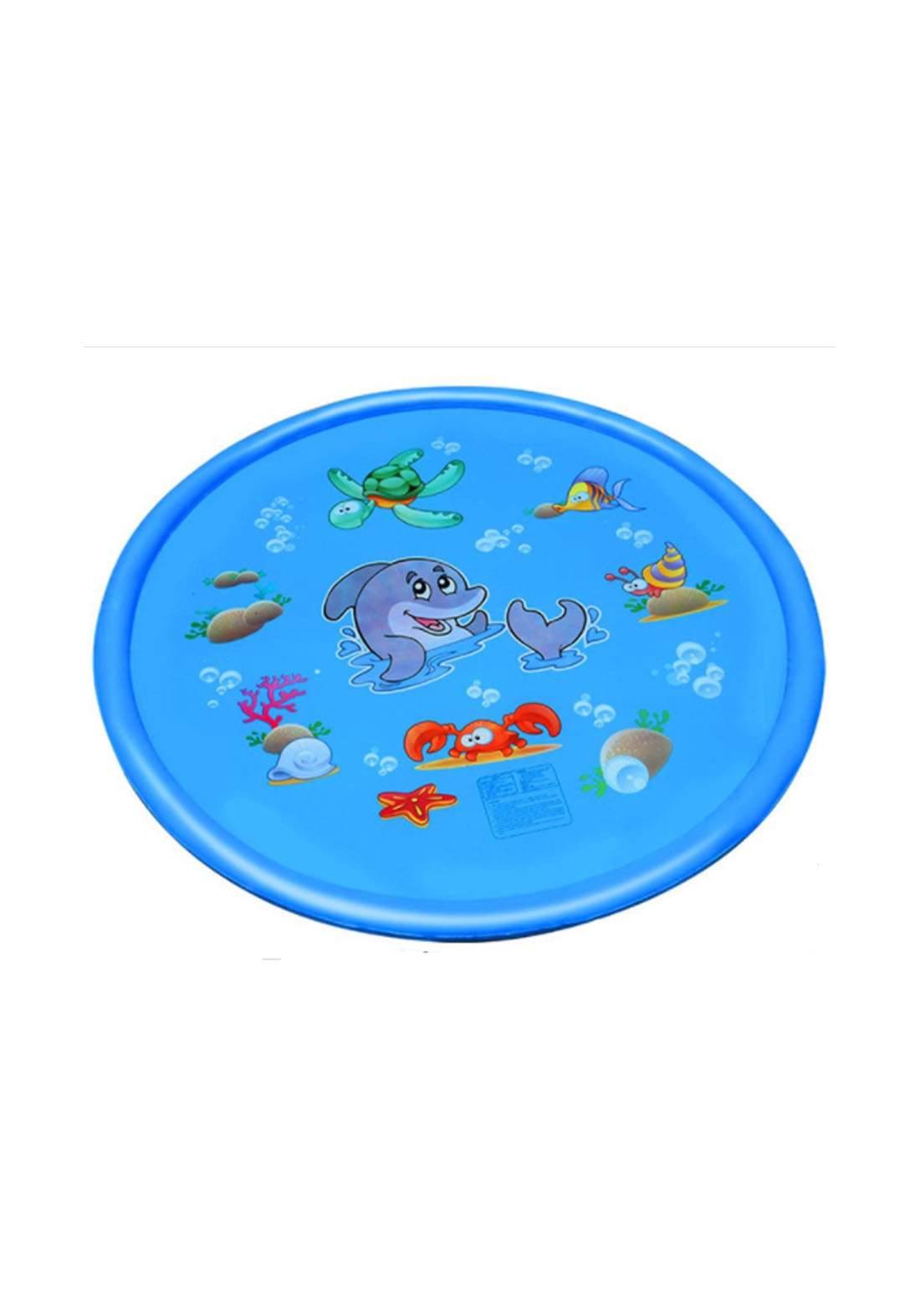Splash Pad and Wading Pool for Learning Kids Sprinkler Pool  نافورة اطفال ارضية