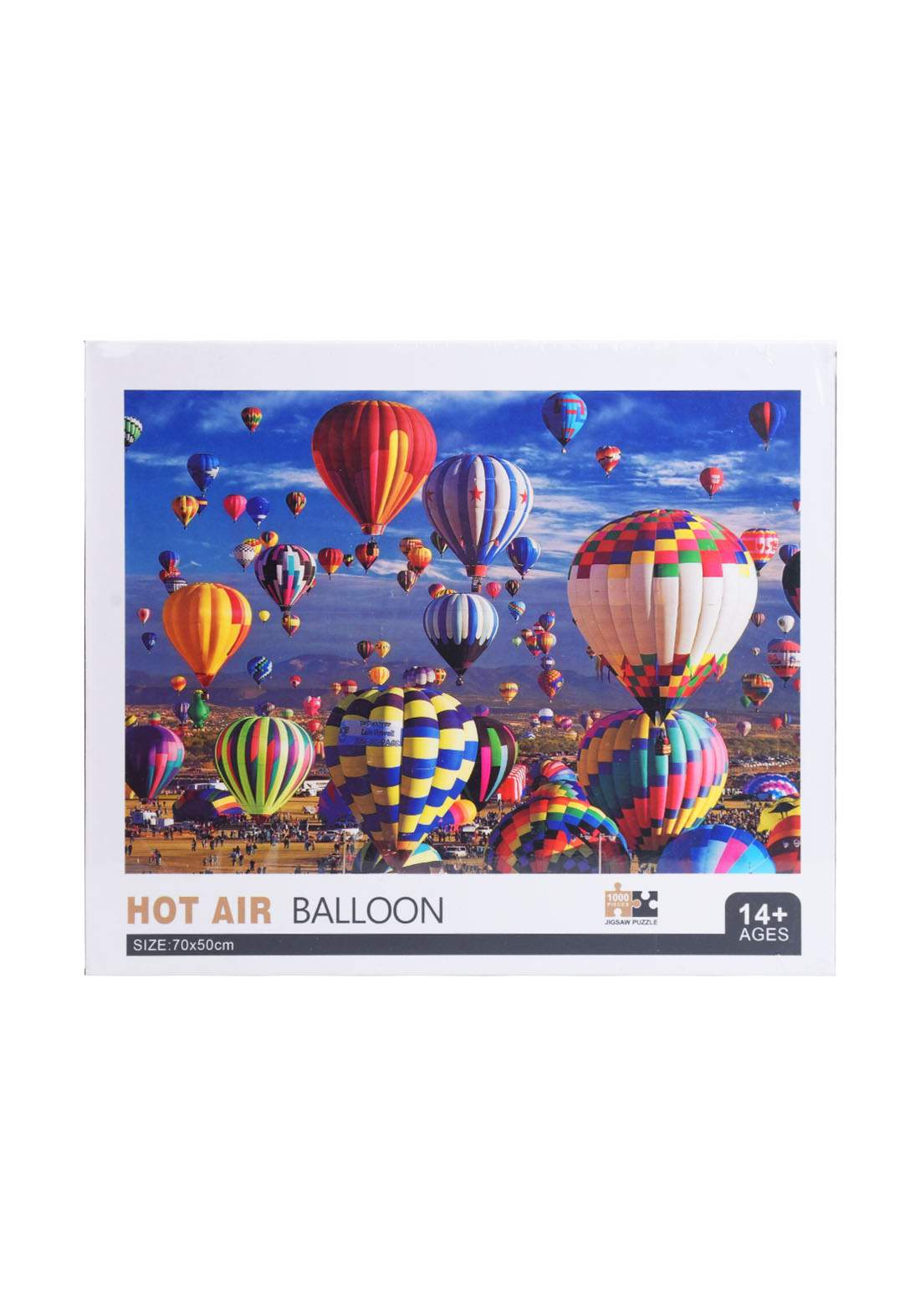 Jigsaw Puzzle Hot Air Balloon 1000Pcs لعبة تركيب القطع بشكل منطاد