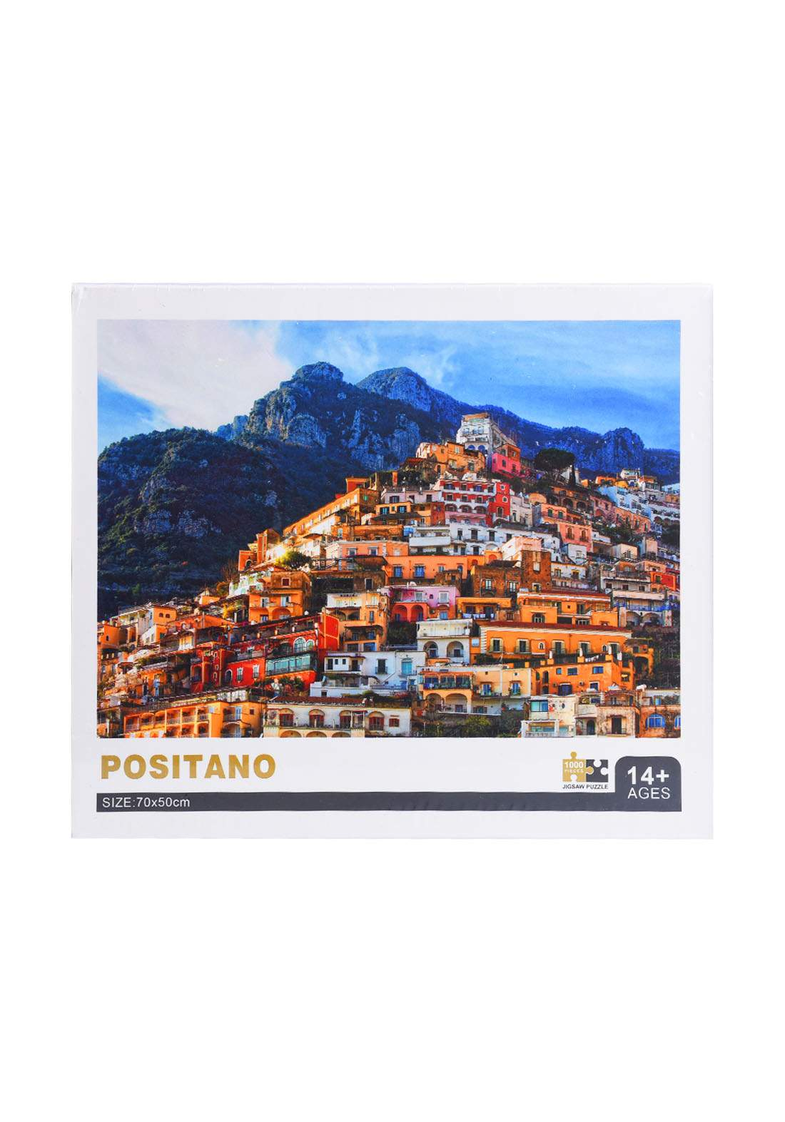 Jigsaw Puzzle Positano 1000Pcs لعبة تركيب القطع بشكل بوسيتانو