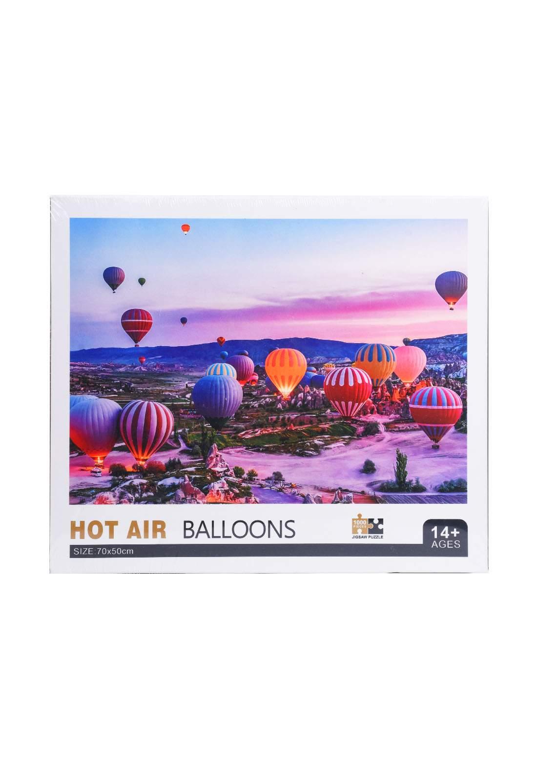 Jigsaw Puzzle Hot Air Balloons 1000Pcs لعبة تركيب القطع بشكل بالونات الهواء الساخن