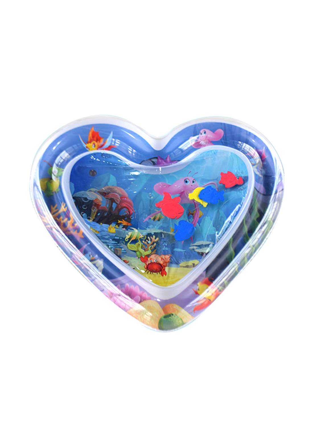 Inflatable Heart Water Mat for Kids حوض مائي للأطفال