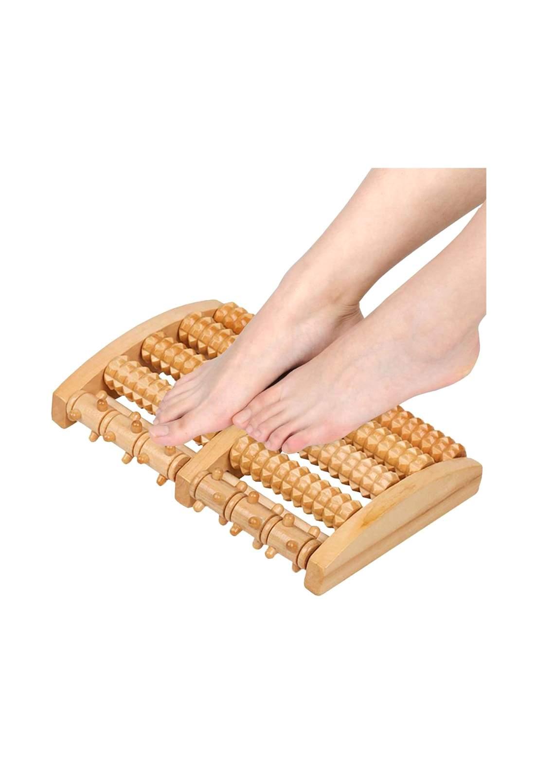 اداة تدليك الاقدام الخشبية للقضاء على آلام القدمين