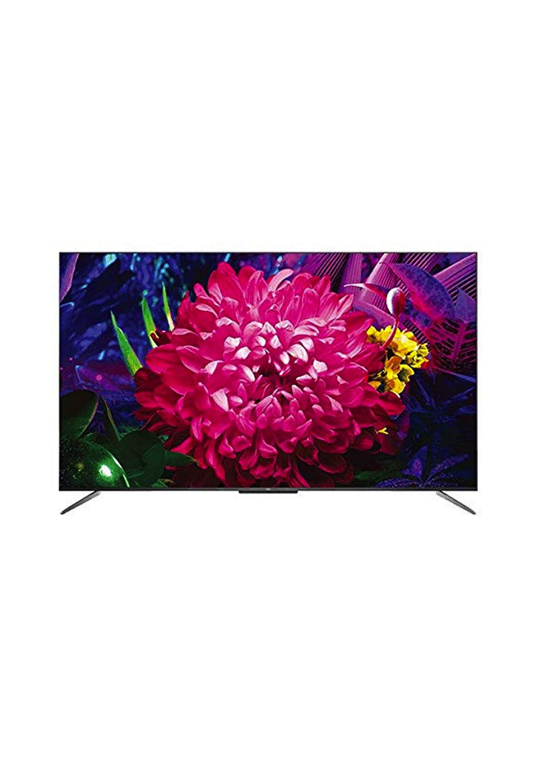 TCL 65C715 Android TV QLED 65 Inch- Black شاشة