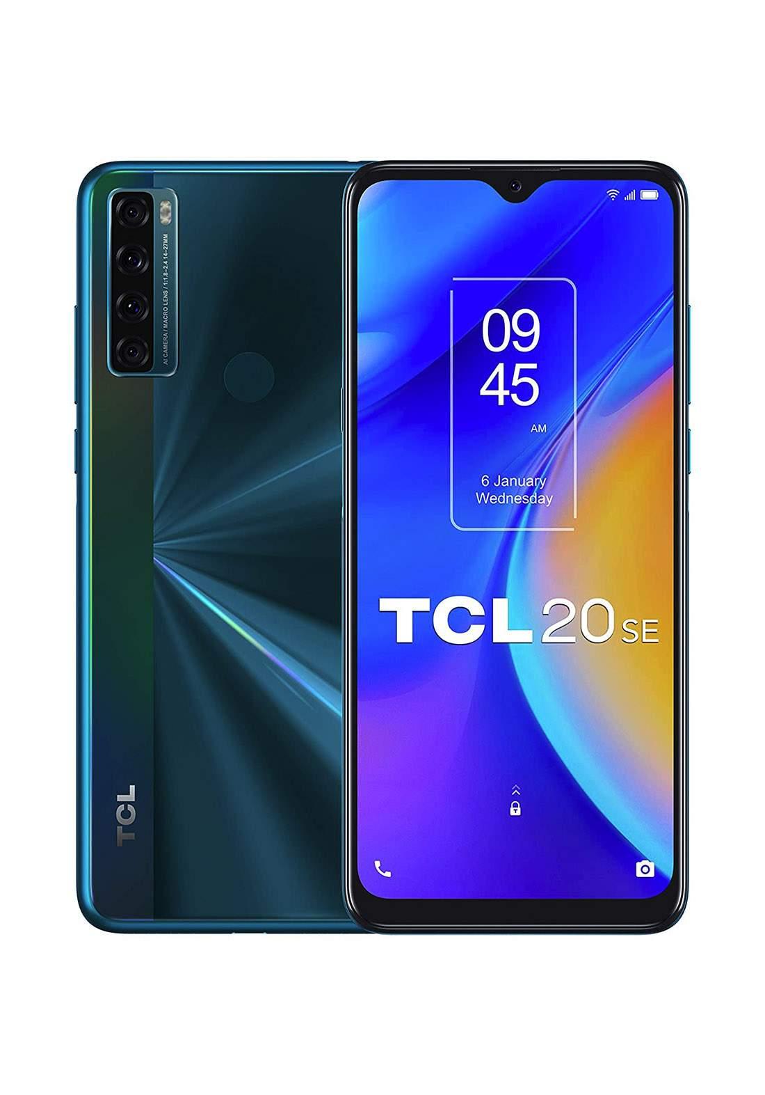 TCL T671H 20 SE Dual SIM 4GB RAM 64 GB  - Aurora Green