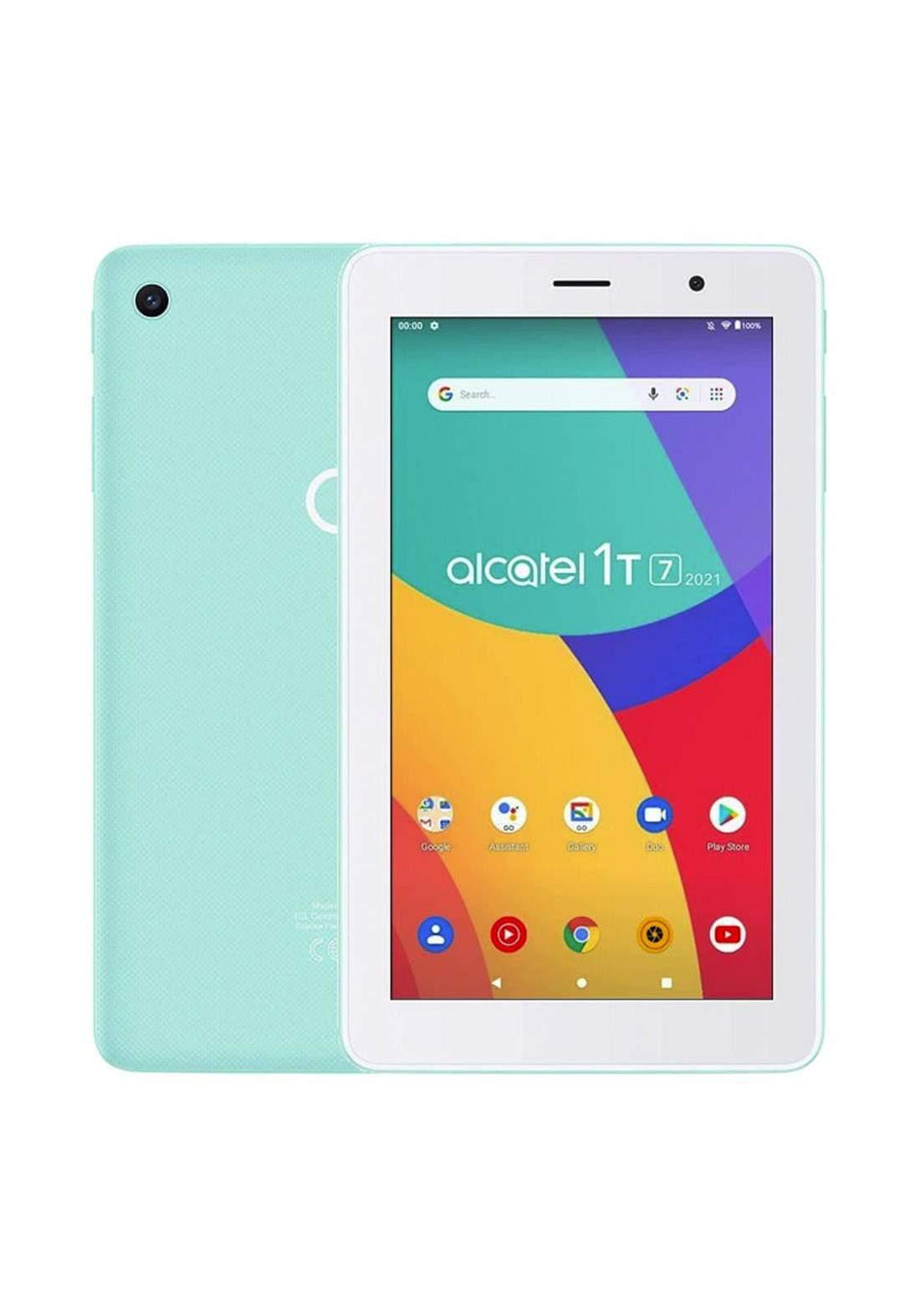 ALCATEL 1T 7 9309X1 WiFi 1GB RAM 8GB With Flip Cover - Cream Mint