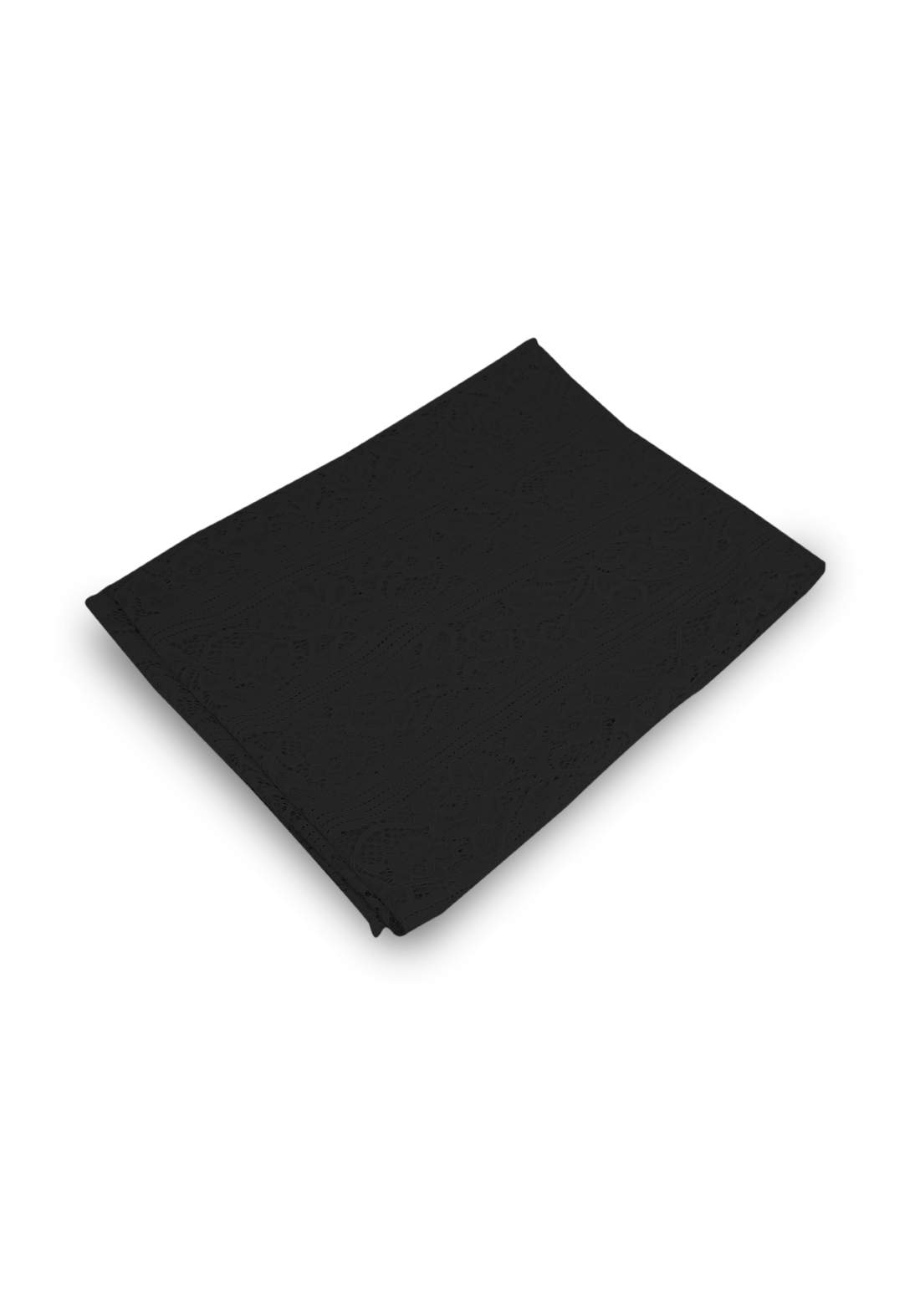 شال كيبور أسود اللون