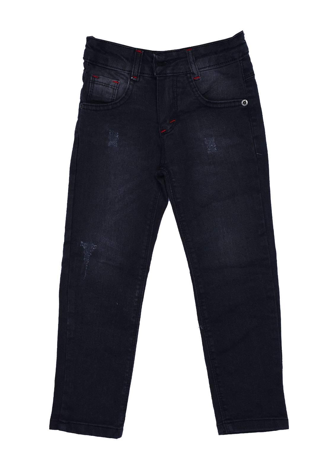 بنطلون ولادي جينز ازرق اللون من Astar