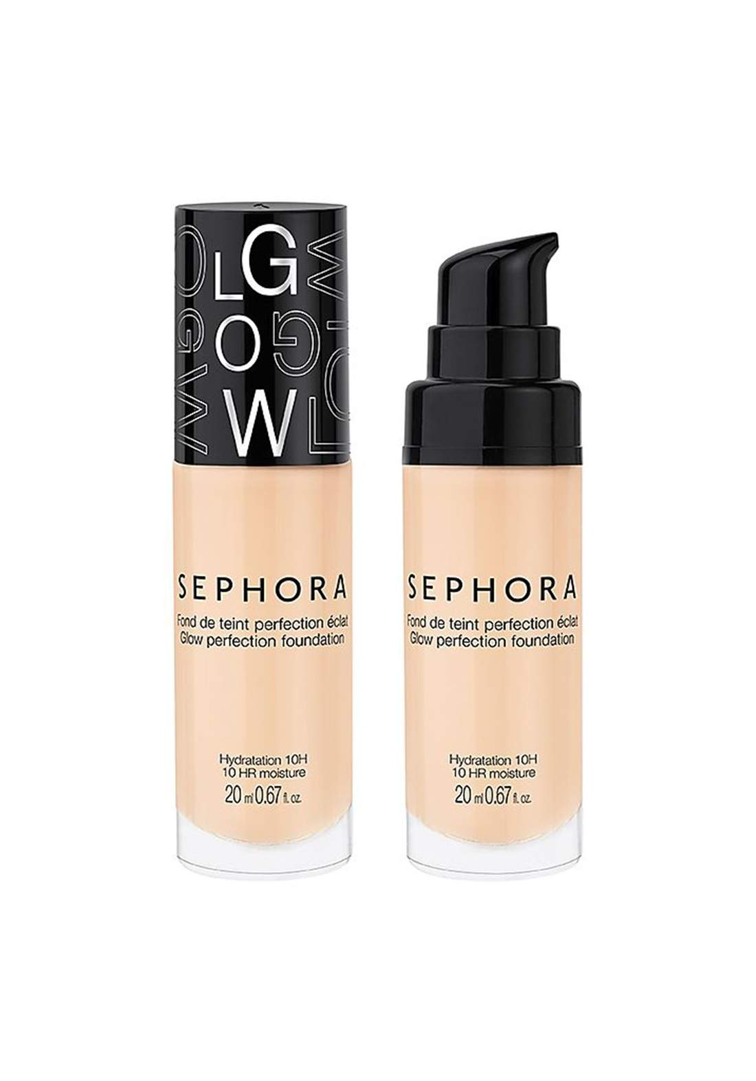 Sephora Collection Glow Perfection – Foundation  20 Clair Light  كريم اساس